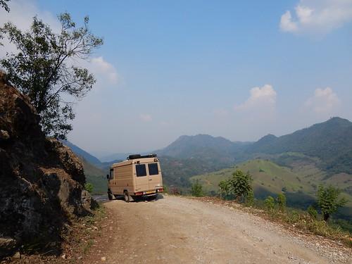 Guatemala - Onderweg naar Lanquin - 11 km dirtroad