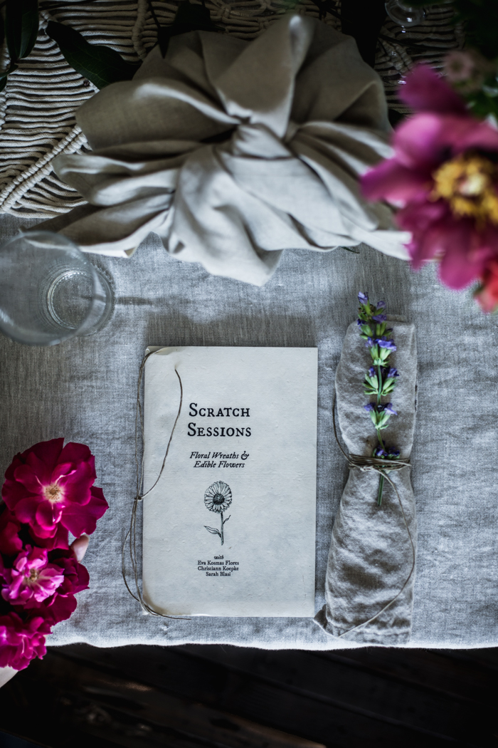 Floral Scratch Session by Eva Kosmas Flores | Adventures in Cooking