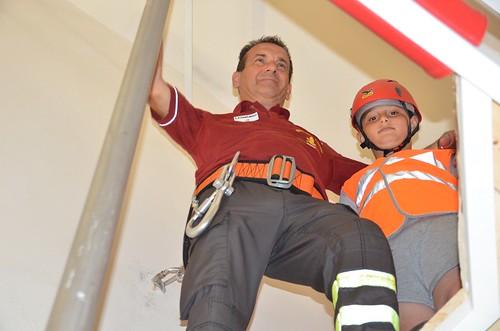 Casa sicura. Inaugurazione Camera sismica