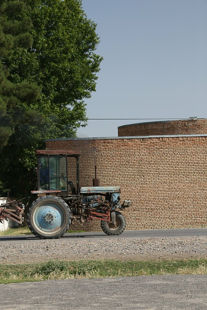 Three Wheeled Tractor