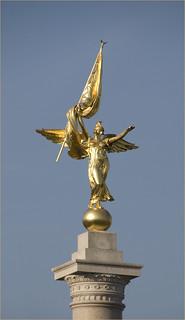 Kuva First Division Monument. roncogswell cherryblossomswashingtondcmarch2012 firstdivisionmonumentpresidentsparkwashingotndc2012 presidentsparknwwashingtondc