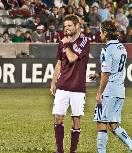 Drew Moor Colorado Rapids by CE's Photography