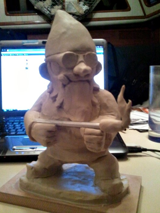 Flamethrower Gnome WIP