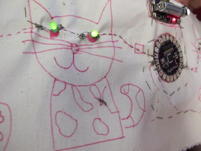 Seren's LED kitties