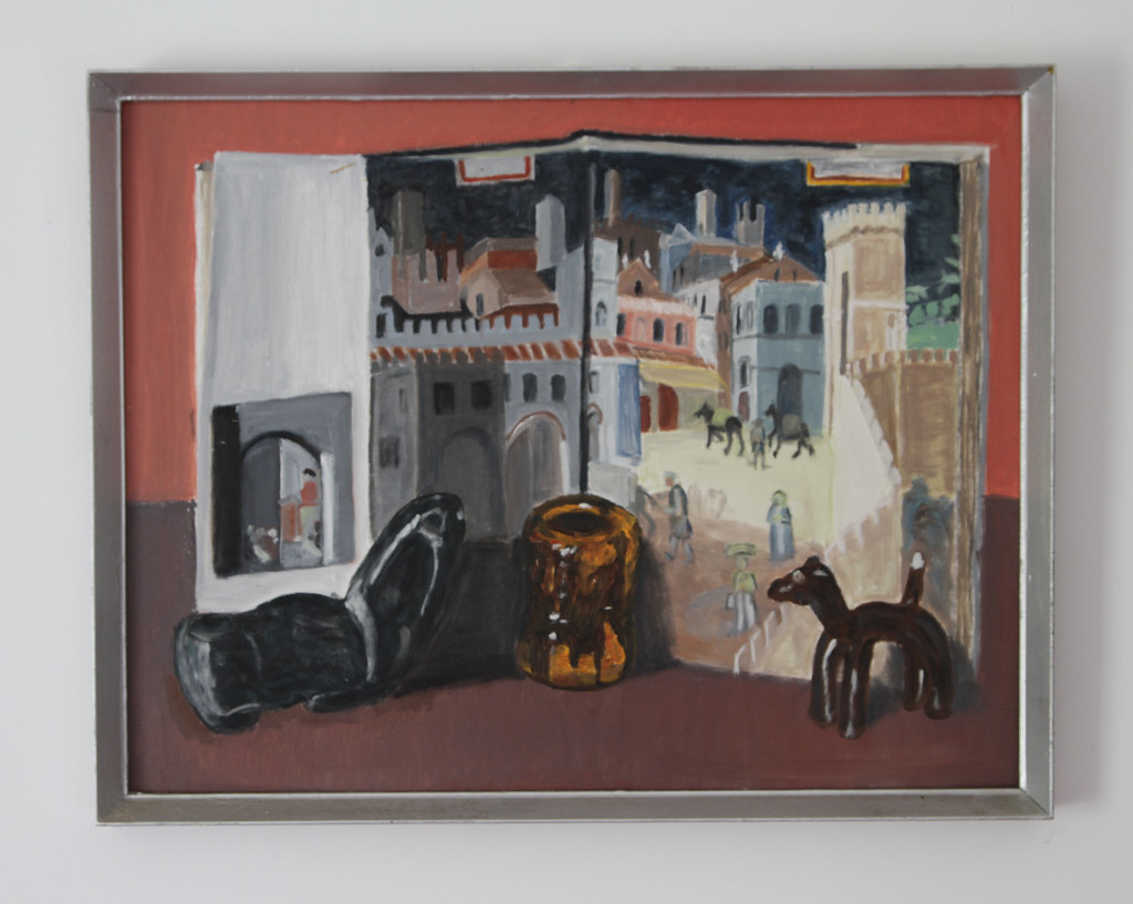 Ambrogio Lorenzetti's 'Effetti del buon governo in citta' with supporters