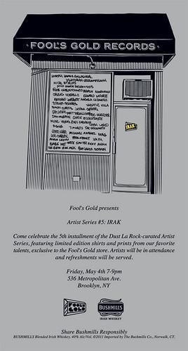 Fool's Gold x IRAK by VLNSNYC