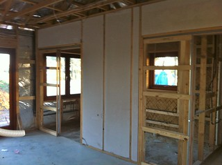 Hebel separates ensuite from main bedroom