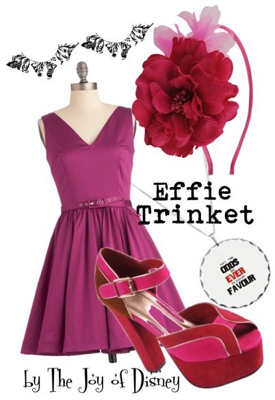 Inspired by: Effie Trinket (Hunger Games)