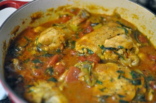 Tomato Tarragon Chicken