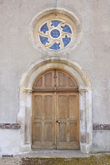 Porte d'entrée de l'église du Renouard - Photo of L'Oudon