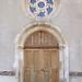 Porte d'entrée de l'église du Renouard ©loic.v