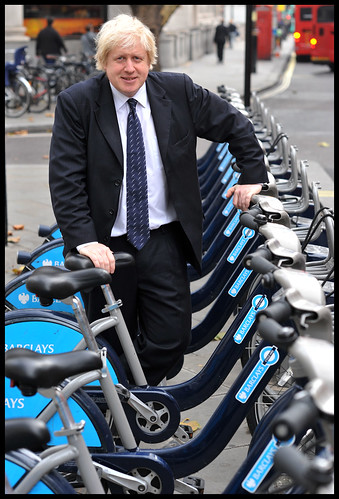 Boris with bikes