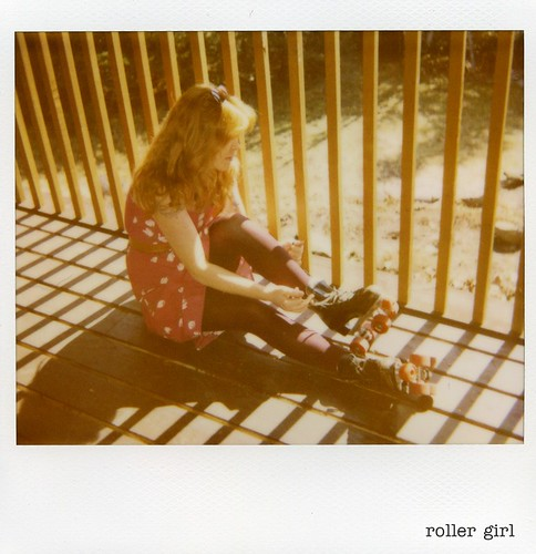 polaroid - roller girl