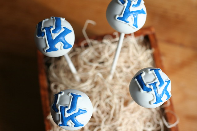 University of Kentucky Cake Pops