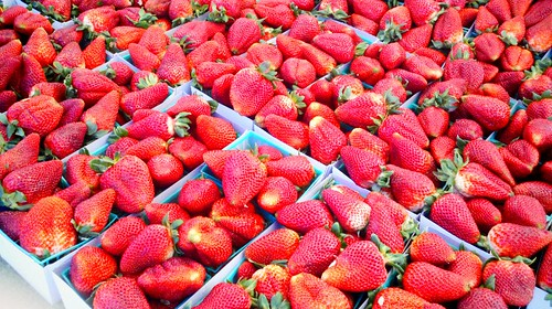 Farmer's Market strawberries