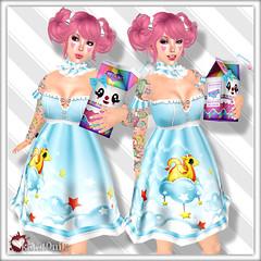*katat0nik* (holding) Milk Doll