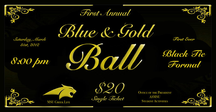 Blue and Gold Ball - March 31, 2012
