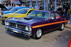 automobile, automotive exterior, family car, vehicle, ford xy falcon gt, compact car, ford, antique car, sedan, land vehicle,