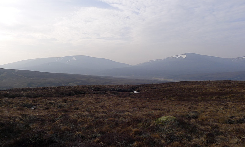 Looking back to the Tarf Hills