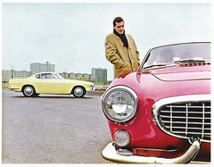 VOLVO P1800 Factory Photo (Sweden 1961)