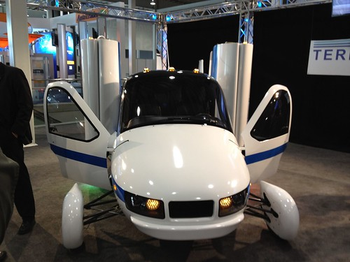 The Terrafugia Flying Car @ the 2012 New York International Auto Show