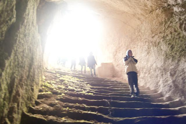 Bajando el tunel