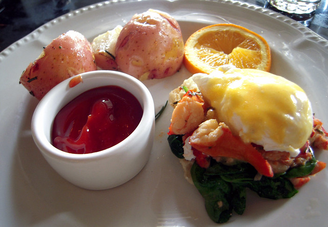 Lobster Benedicts