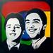 #oprichters Google :: Sergey Brin & Larry Page