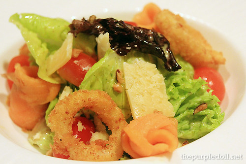 Smoked Salmon Salad P290