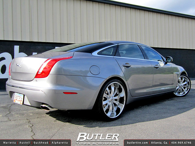 Jaguar XJL with 22in Asanti VF604 Wheels