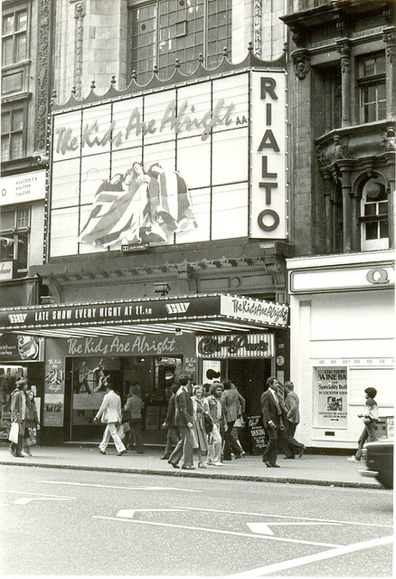 The Kids Are Alright film, Rialto Cinema, London (1979)