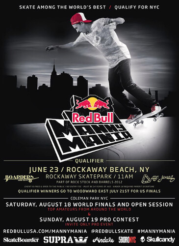 RED-BULL PRESENTS MANNY MANIA CONTEST 2012 by VLNSNYC