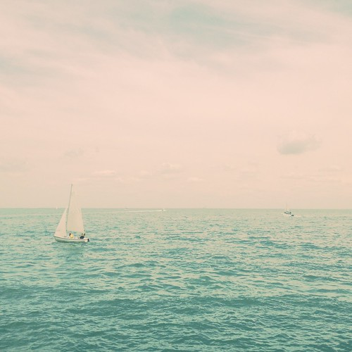 The sea pronounces something, over and over, in a hoarse whisper; I cannot quite make it out. ~Annie Dillard