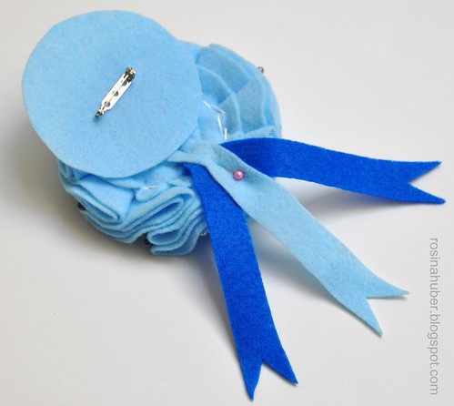 Blue Ribbon Rosette