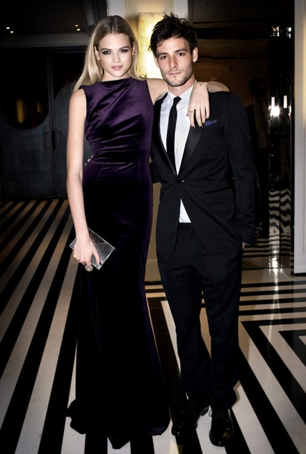 6 - Gabriella Wilde and Roo Panes wearing Burberry to The Metropolitan Museum of Art 2012 Costume Institute Benefit in NY, 07.05.12-2