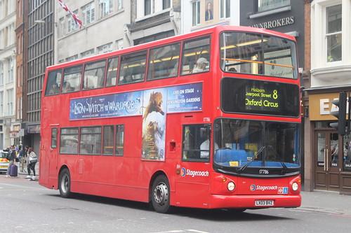 17786 LX03BVZ STAGECOACH LONDON
