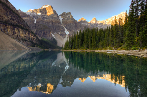Moraine Lake by Jeremy Duguid