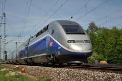 - Frankreich  TGV  Dic