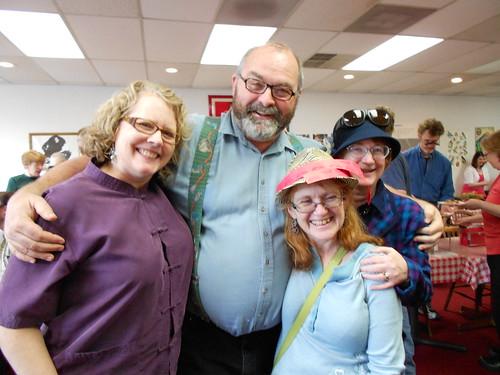 Amanda, Bob, Joyce, and Irene (or Phyllis depending upon the day)