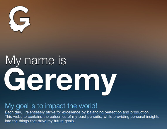 My name is GEREMY