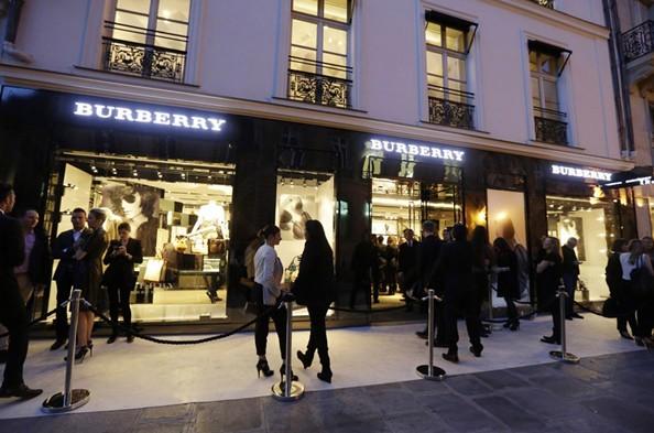 2 P - Burberry Eyewear event in Paris 3 May 2012-2
