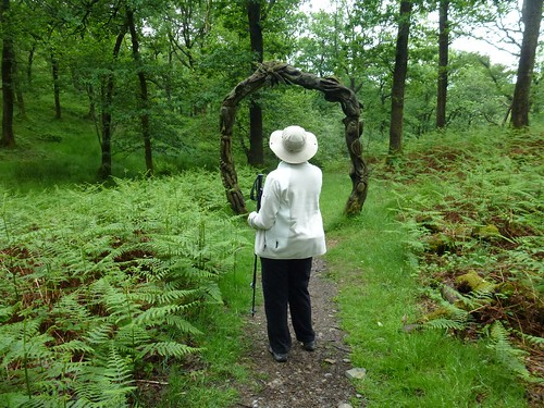 Grizedale forest - Silurian way art 1