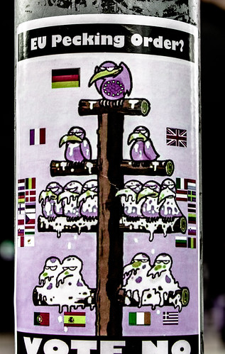 Amusing Poster: EU Pecking Order by infomatique