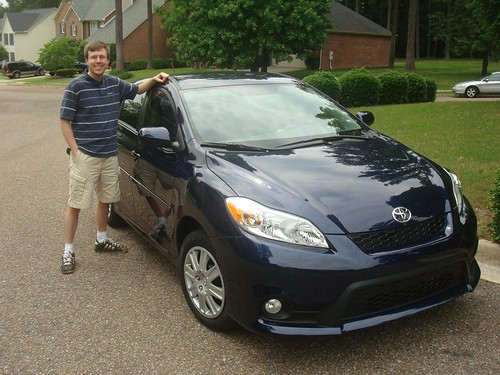 The Hubby and His New Car