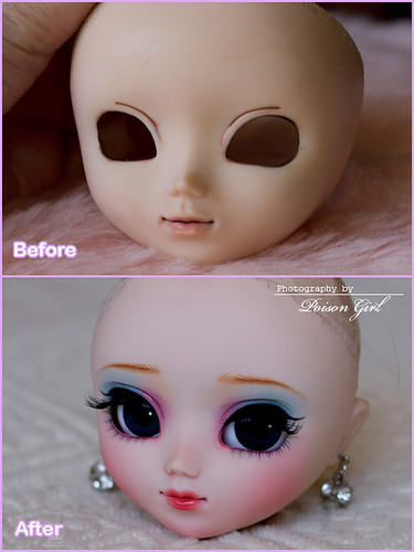 Before & After - Pullip Blanche