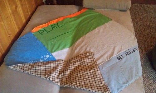 T-Shirt Lap Blanket