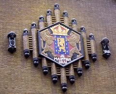 <p>Detailfoto Nederlands wapen.  Foto: Geerten van Gelder.</p>
