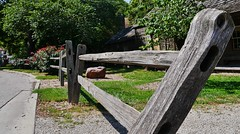 61112-185, Split Rail Fence