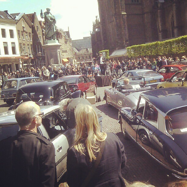 Citroën-concert in Haarlem
