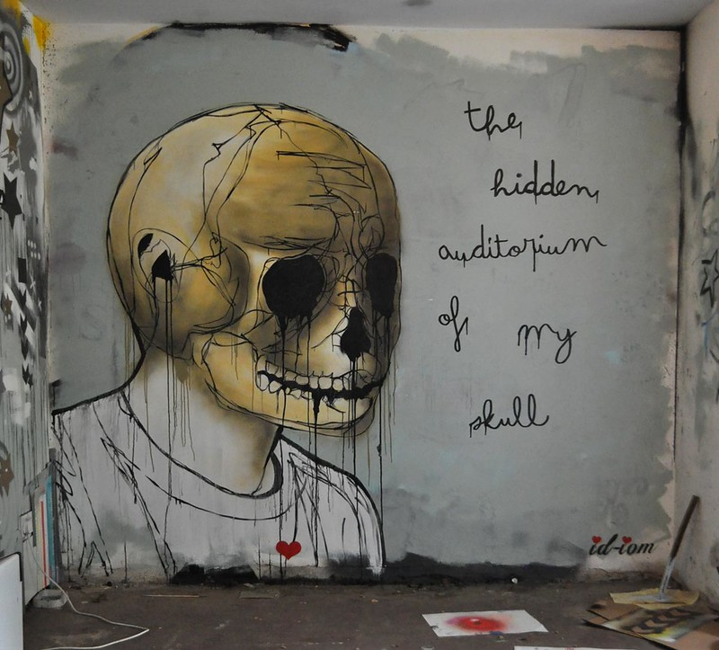 The hidden auditorium of my skull